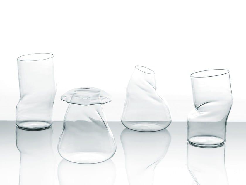 Vaso in cristallo TRANSFORMER by Glas Italia