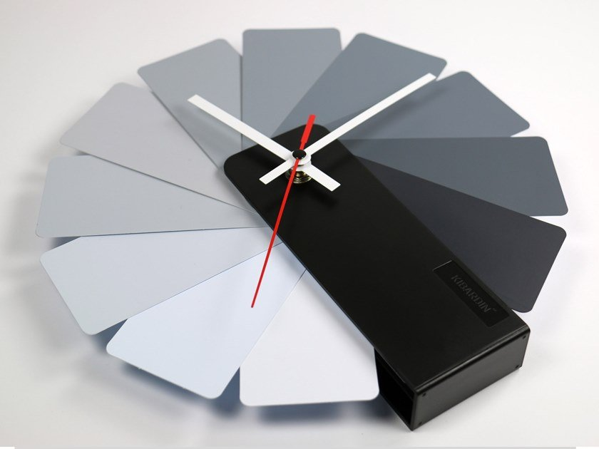 Wall-mounted / table-top ABS clock TRANSFORMER by KIBARDIN