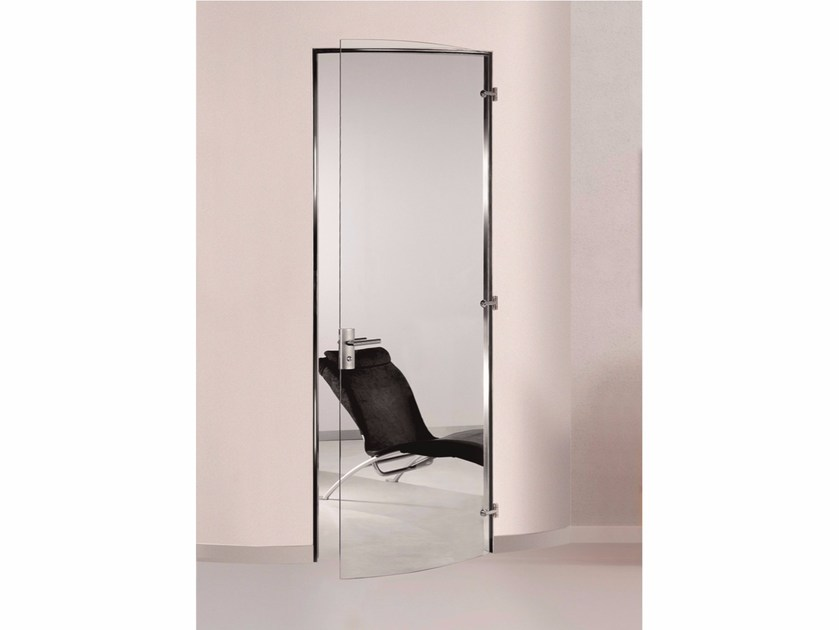 Hinged glass door TRANSPARENT by Casali