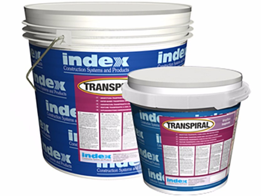 Breathable water-based paint TRANSPIRAL by INDEX