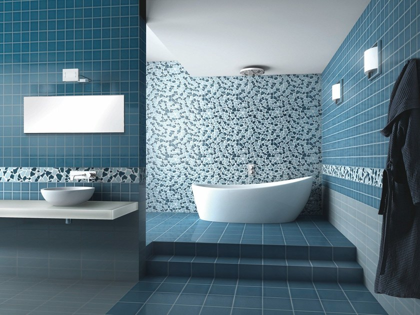 Indoor ceramic wall/floor tiles TRASPARENZE DI MURANO OPUS by Acquario Due