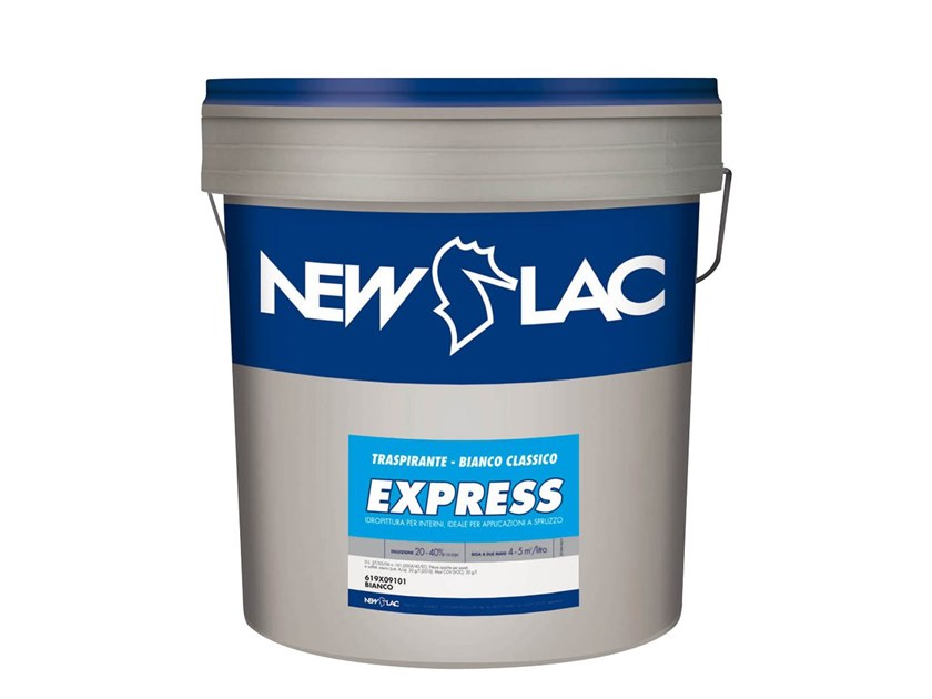 Idropittura per interni TRASPIRANTE EXPRESS by NEW LAC