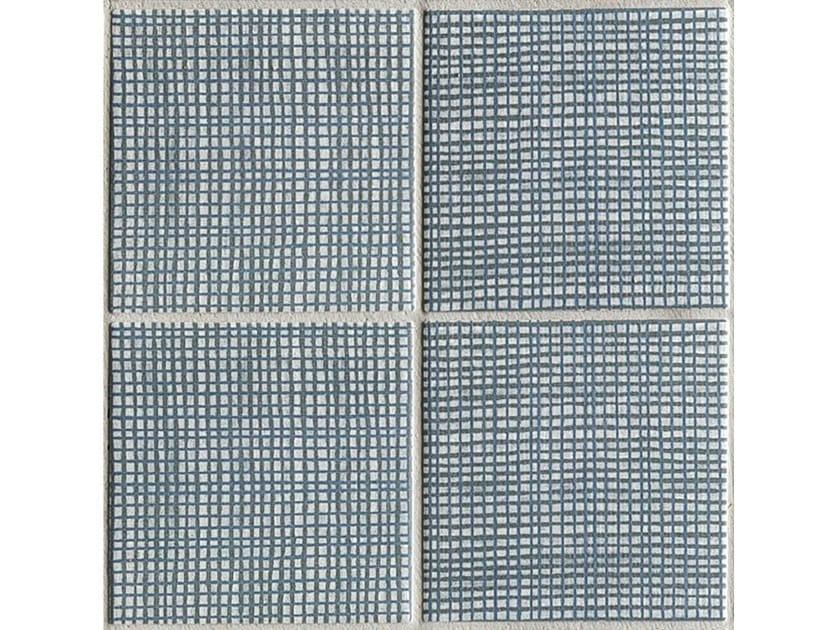 Porcelain stoneware wall/floor tiles TRATTI FEUTRE by MUTINA
