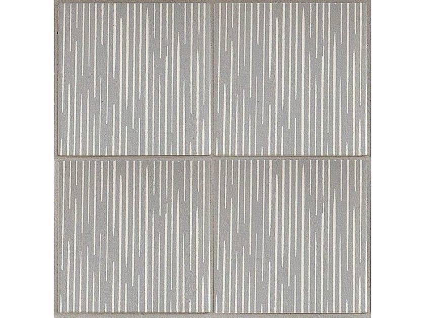 Porcelain stoneware wall/floor tiles TRATTI LIGNE by MUTINA