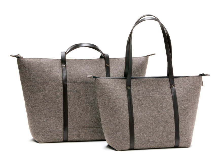 Felt bag TRAVELLING BAG by HEY-SIGN