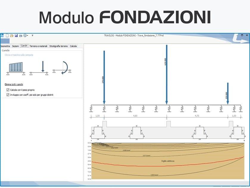 TRAVILOG ELEMENTS - Modulo FONDAZIONI