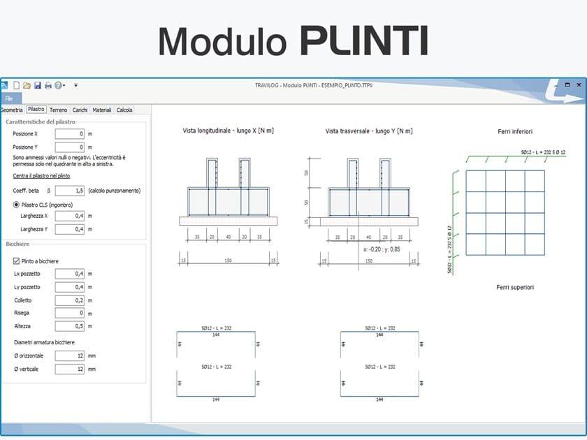 TRAVILOG ELEMENTS -  Modulo PLINTI