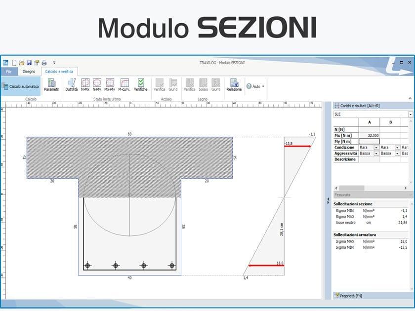 TRAVILOG ELEMENTS  - Modulo SEZIONI