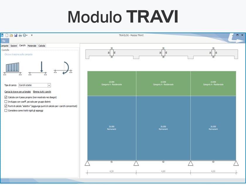 TRAVILOG ELEMENTS  - Modulo TRAVI