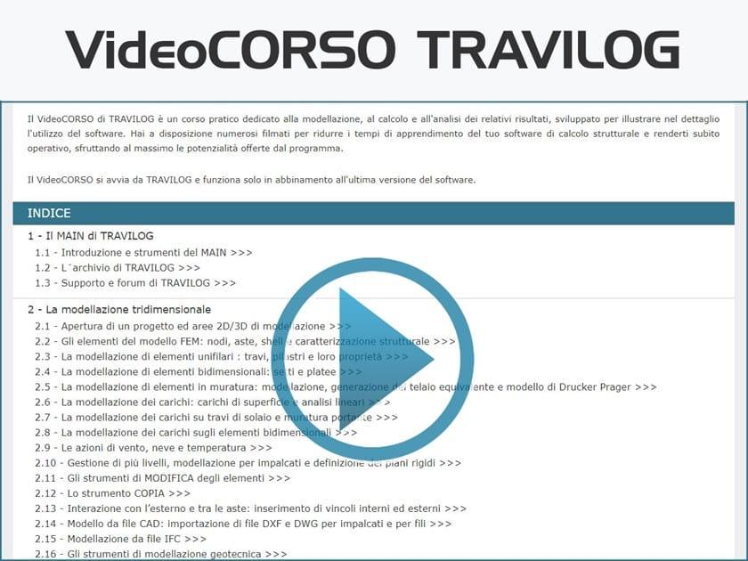 VideoCORSO TRAVILOG