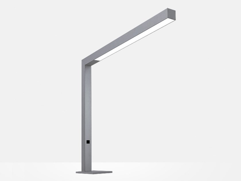 Lampada da scrivania a LED in alluminio TRAVIS TABLE T2 by Lightnet
