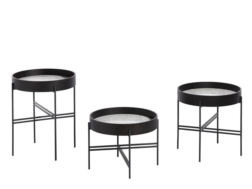 Tray Round Coffee Table Tray Collection By Potocco