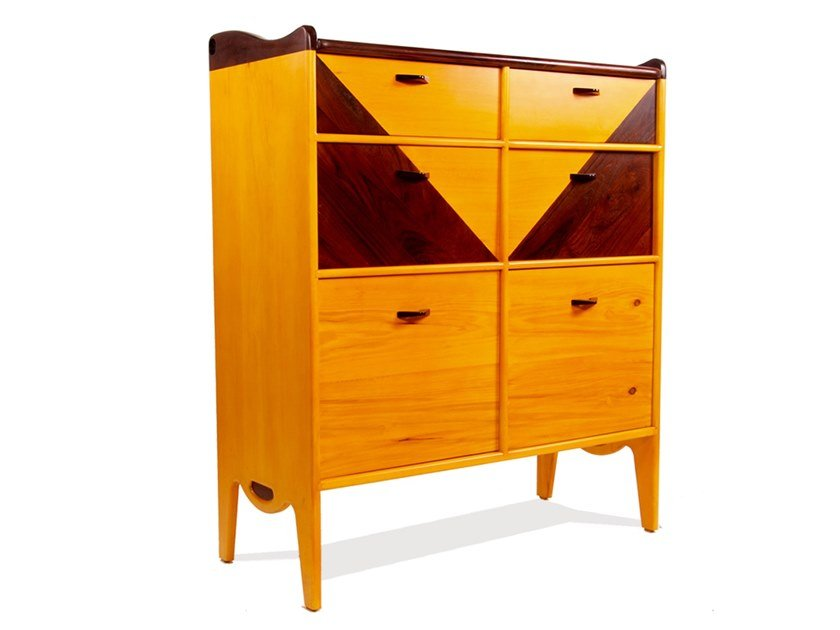 Solid wood chest of drawers TRAYI by ALANKARAM