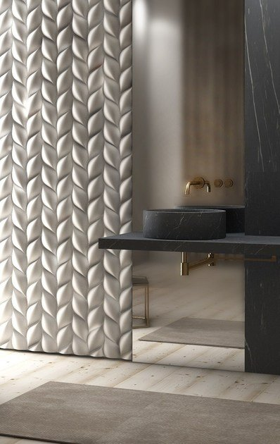 3D Wall Panel TRECCIA by 3D Surface