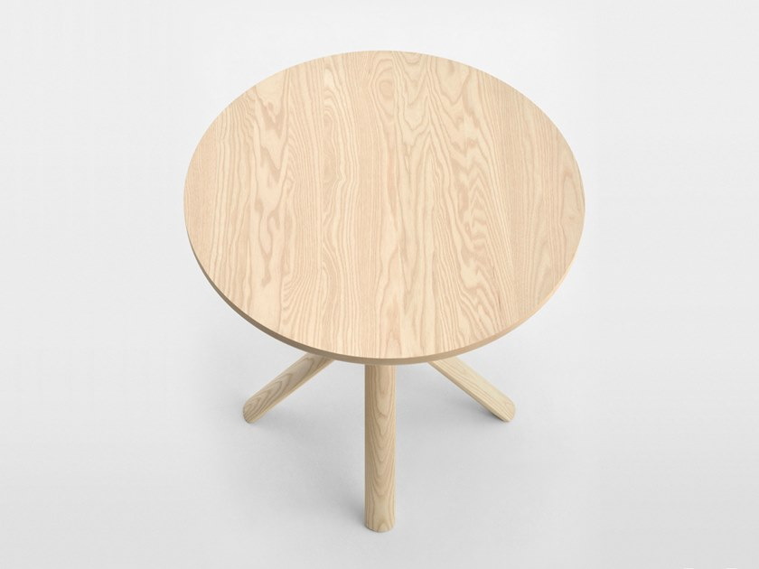 Round ash table TREE | Wooden table by SIPA