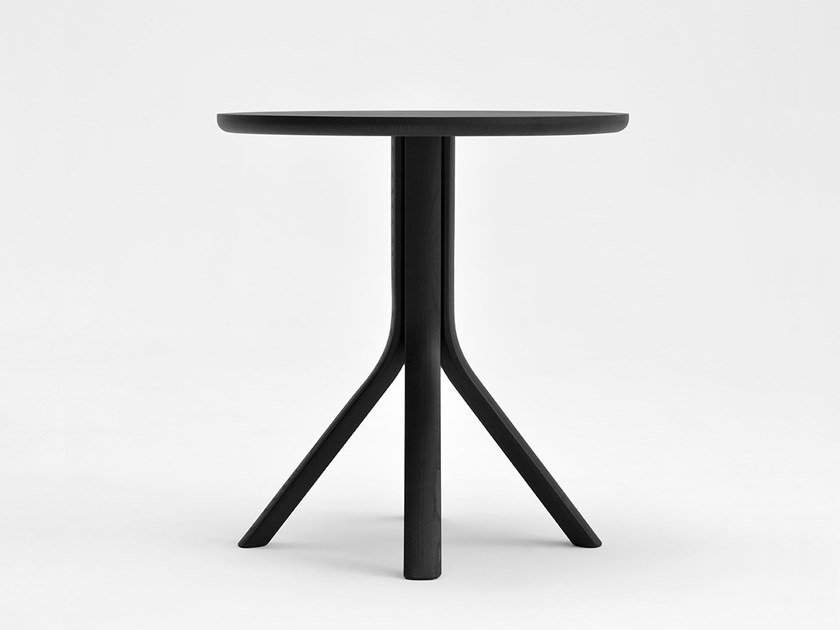 Lacquered round ash table TREE | Lacquered table by SIPA