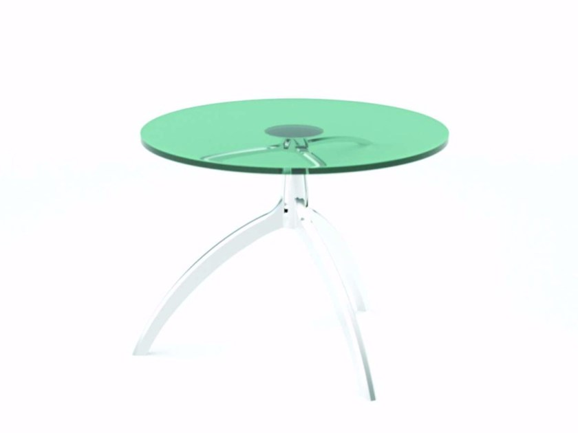 Round crystal coffee table TREE TABLE - 951 by Alias