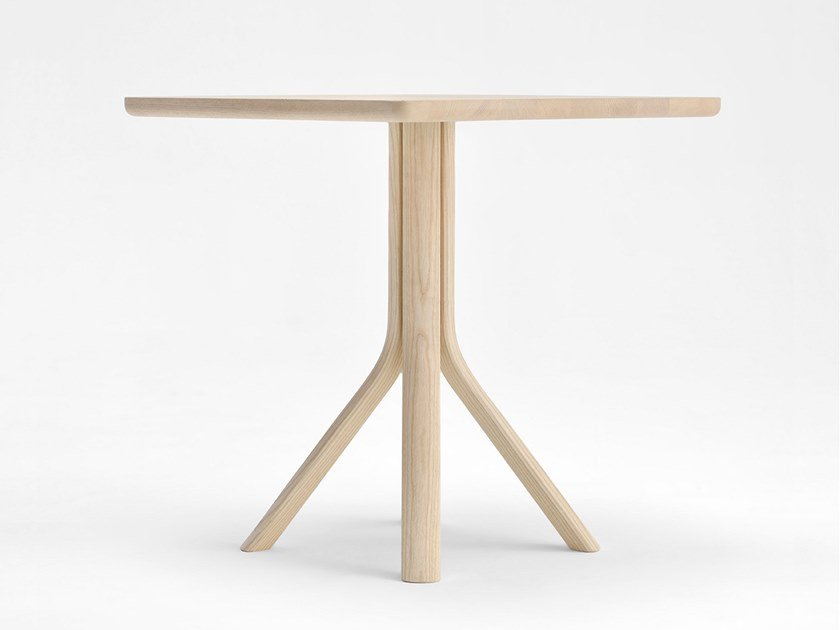 Square ash table TREE   Wooden table by SIPA