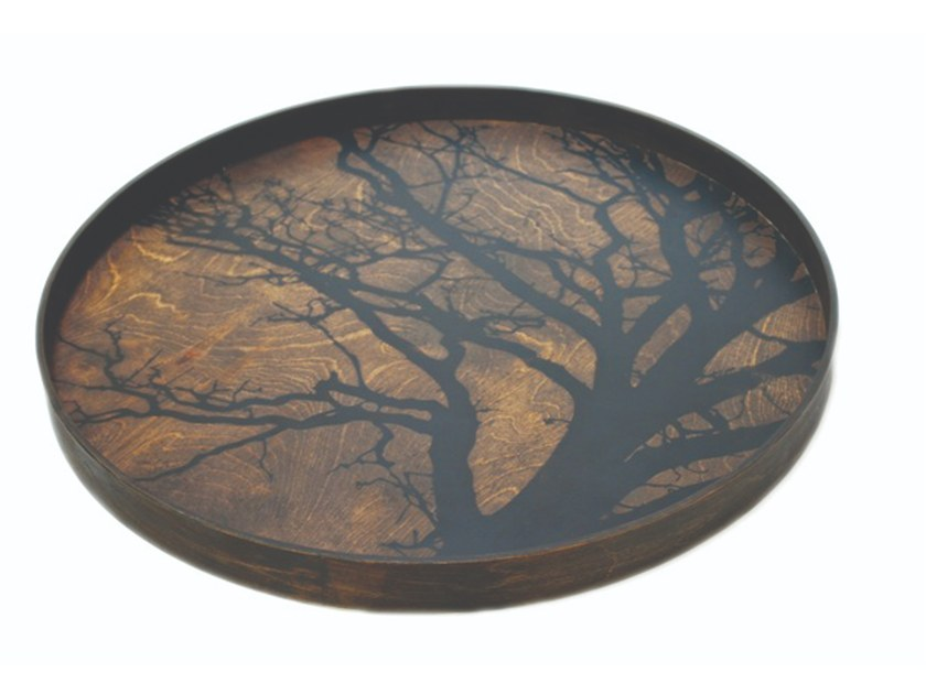 Round wooden tray TREE | Tray by Notre Monde