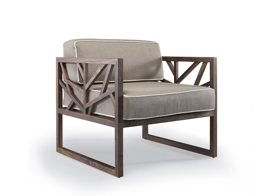 Armchair with armrests TREE by Wewood