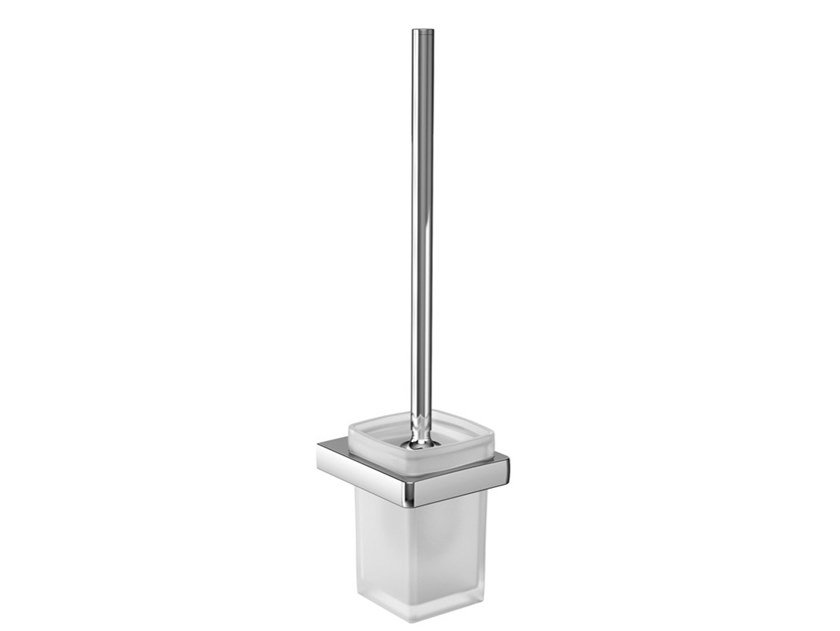 Wall-mounted glass toilet brush TREND | Toilet brush by Emco Bad