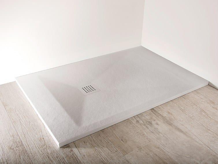 Rectangular shower tray TRENTAMILLIMETRI by Scarabeo Ceramiche