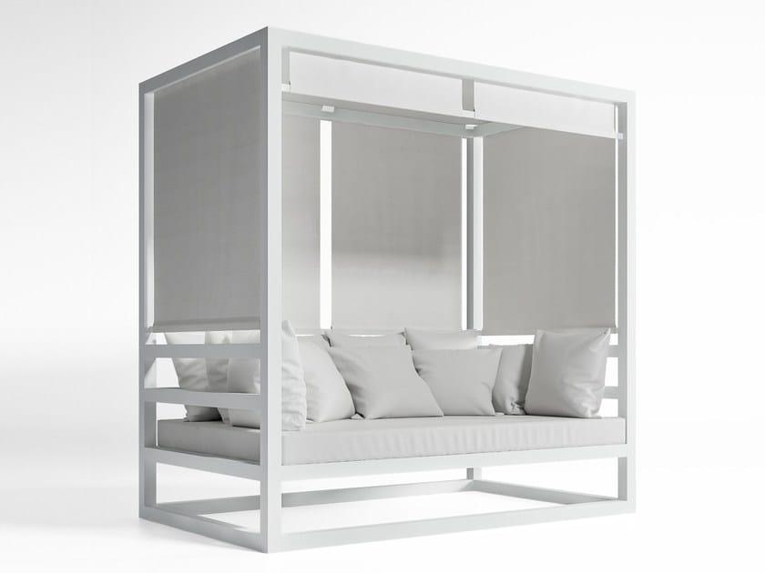 Thermo lacquered aluminium sofa AL FRESCO | Sofa by GANDIA BLASCO