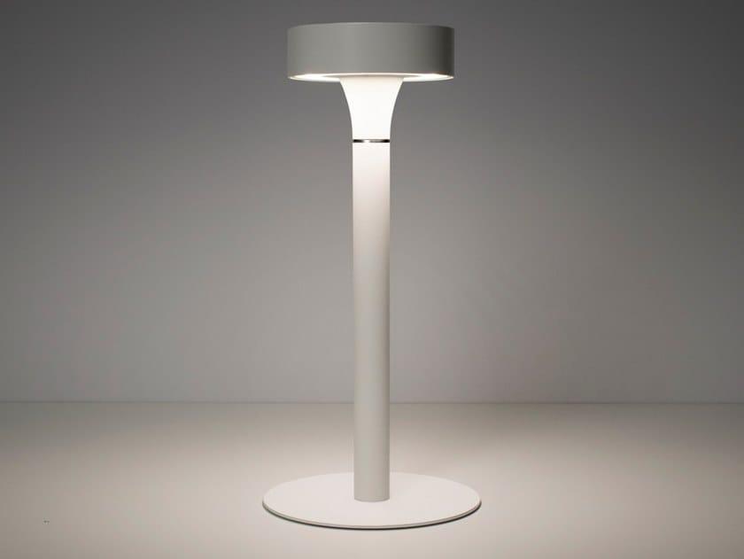 Lampada da tavolo per esterno a LED in alluminio senza fili TRES JOLIE | Lampada da tavolo per esterno by SIMES