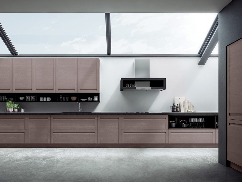 Linear fitted kitchen TREVISO | Kitchen by GD Arredamenti