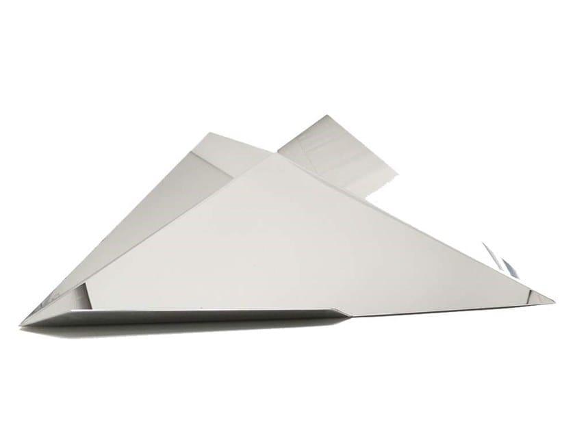 Steel tray TRIA by Adriani e Rossi edizioni