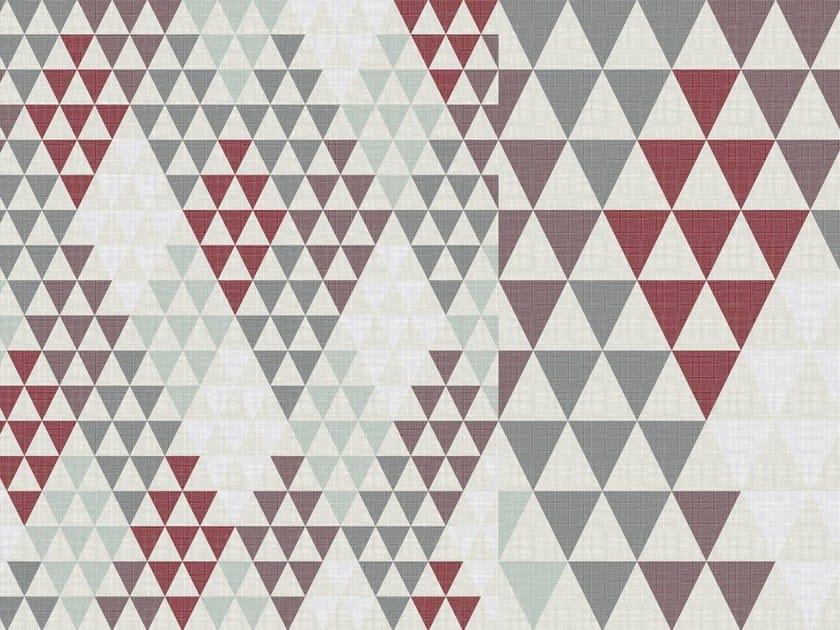 Papier Peint A Motifs Geometriques Tria By Tecnografica Italian