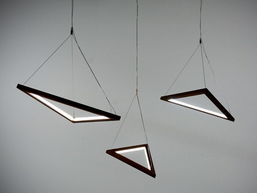 & TRIANGLE   Pendant lamp Triangle Collection By hollis+morris