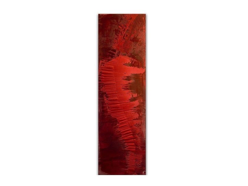 Vertical Olycale® panel radiator TRIBAL by Cinier