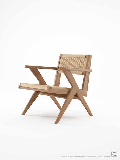 New TRIBUTE | Easy chair Tribute Collection By KARPENTER design Hugues  FE68
