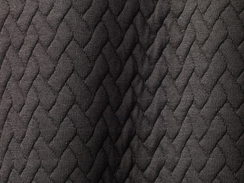 Solid-color Outdoor synthetic fibre fabric TRICOT TRESSAGE by Dedar