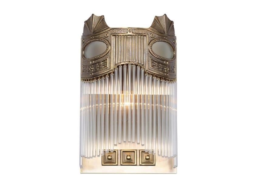Handmade brass wall lamp TRIEST III | Wall lamp by Patinas Lighting