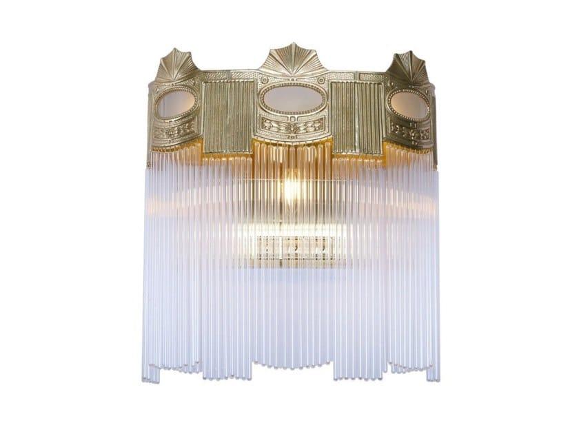 Handmade brass wall lamp TRIEST IV | Wall lamp by Patinas Lighting
