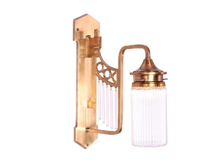 Handmade brass wall lamp TRIEST V | Wall lamp by Patinas Lighting