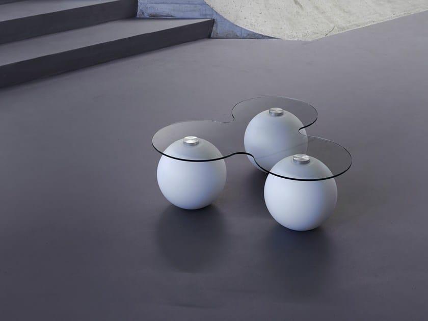 Low Poleasy® coffee table TRIGIGIO by Myyour