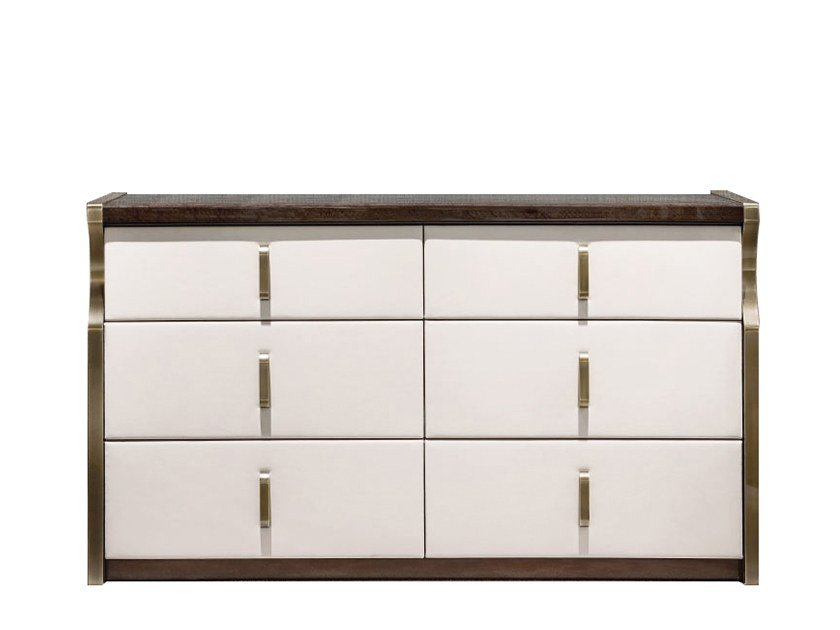 Wooden chest of drawers TRILOGY | Chest of drawers by Capital Collection