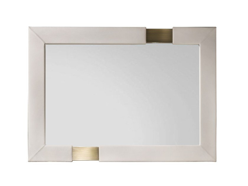 Rectangular wall-mounted framed mirror TRILOGY R by Capital Collection