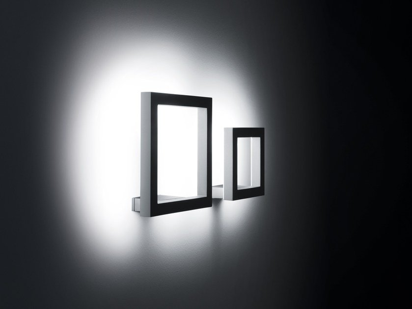 LED indirect light aluminium Wall Lamp TRIM | LED Wall Lamp by SIMES