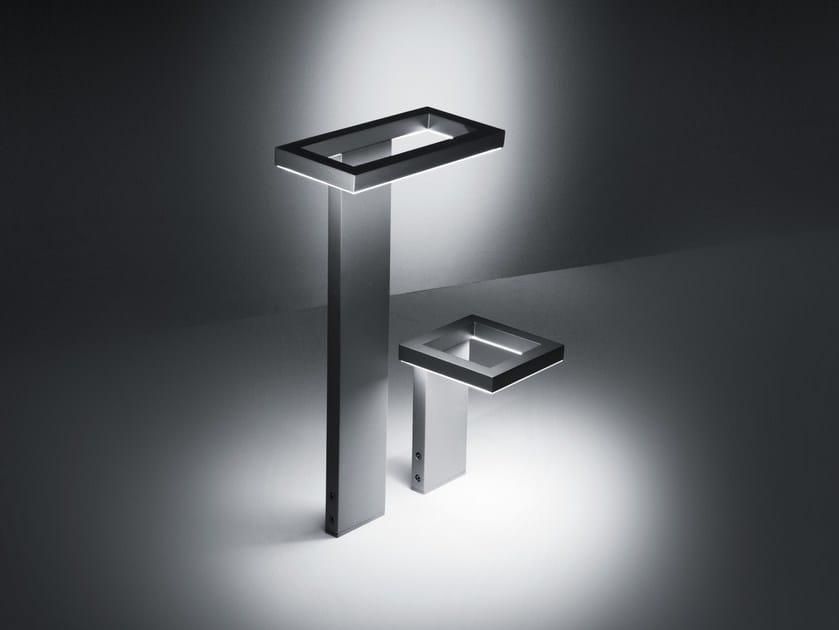 LED aluminium bollard light TRIM | LED bollard light by SIMES