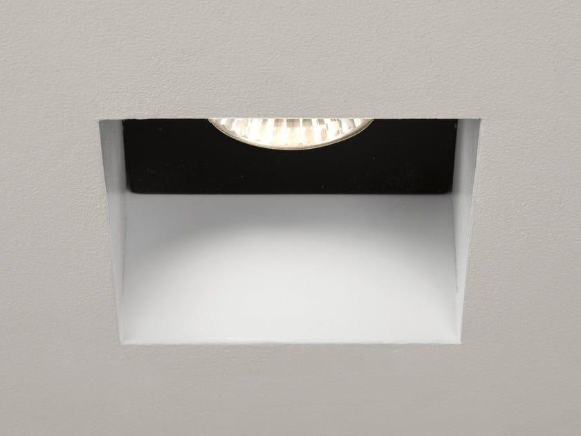 Square recessed steel spotlight TRIMLESS 5670 by Astro Lighting
