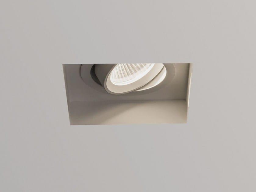 Astro 5699 Quadrato Led Lighting Faretto Trimless A Zinco In Orientabile 67yvfbgIY
