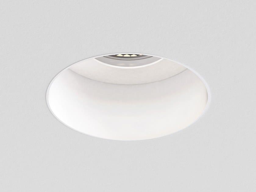 Faretto per esterno a LED in metallo da incasso TRIMLESS ROUND FIXED FIRE-RATED IP65 by Astro Lighting