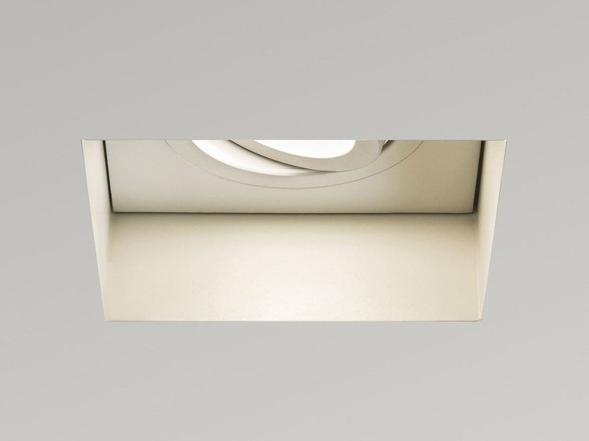 Adjustable square recessed steel spotlight TRIMLESS 5680 by Astro Lighting