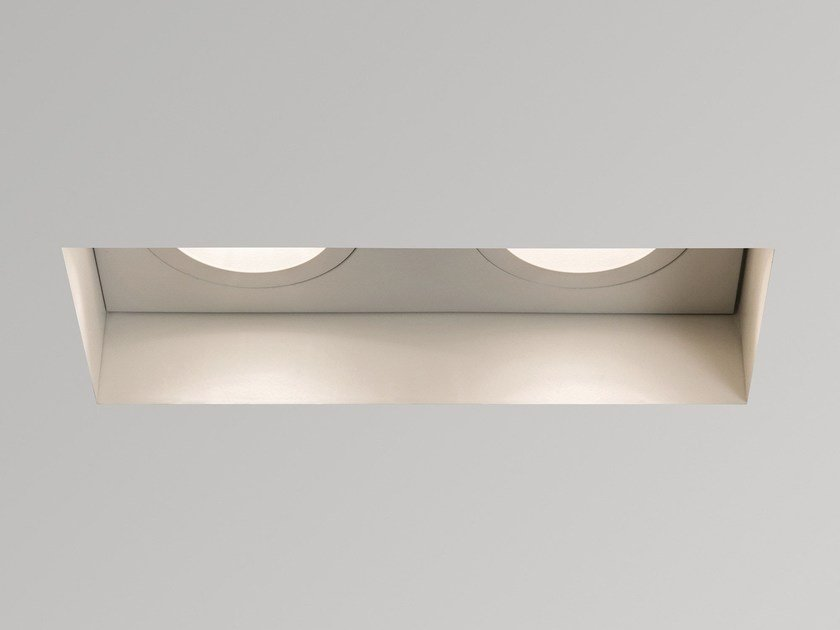 Multiple Round Recessed Steel Spotlight TRIMLESS TWIN By Astro Lighting