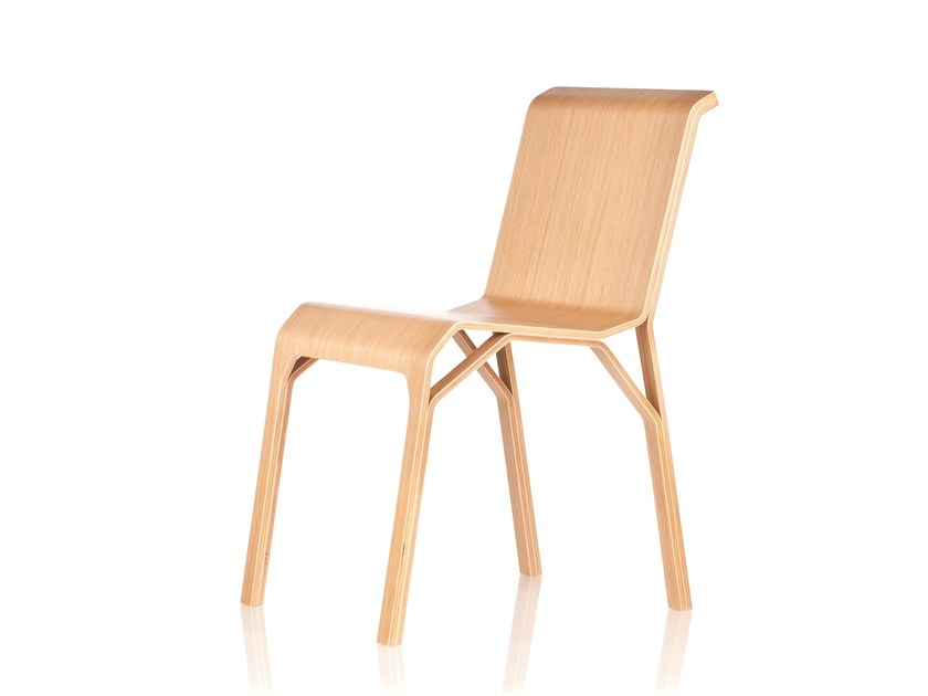 Wooden chair TRIMO by RIGA CHAIR