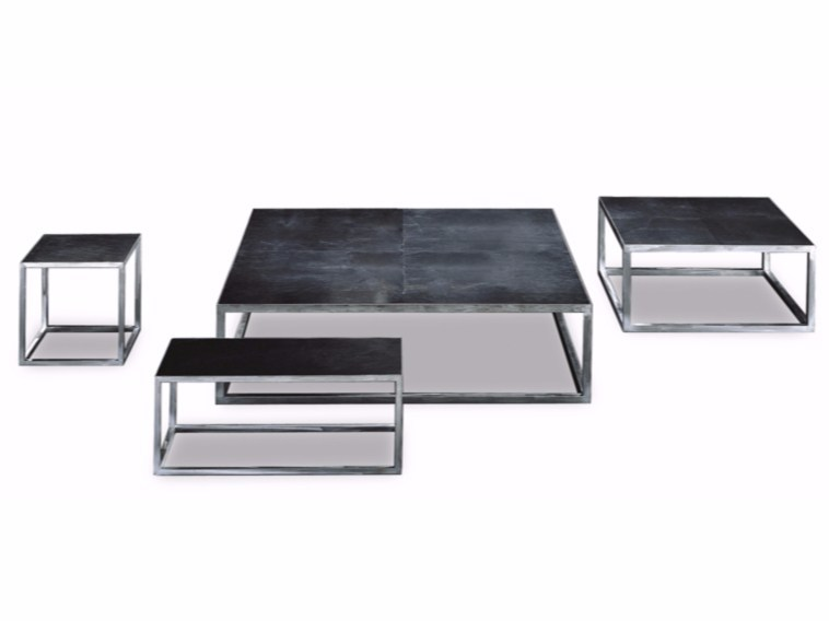 Square coffee table TRINITY by BAXTER